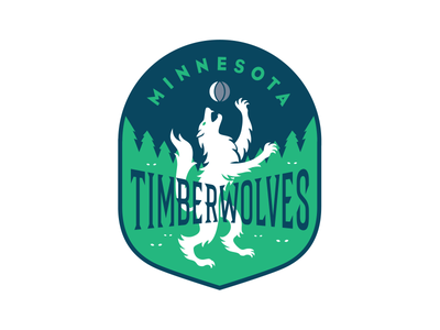 Timberwolves dribbble