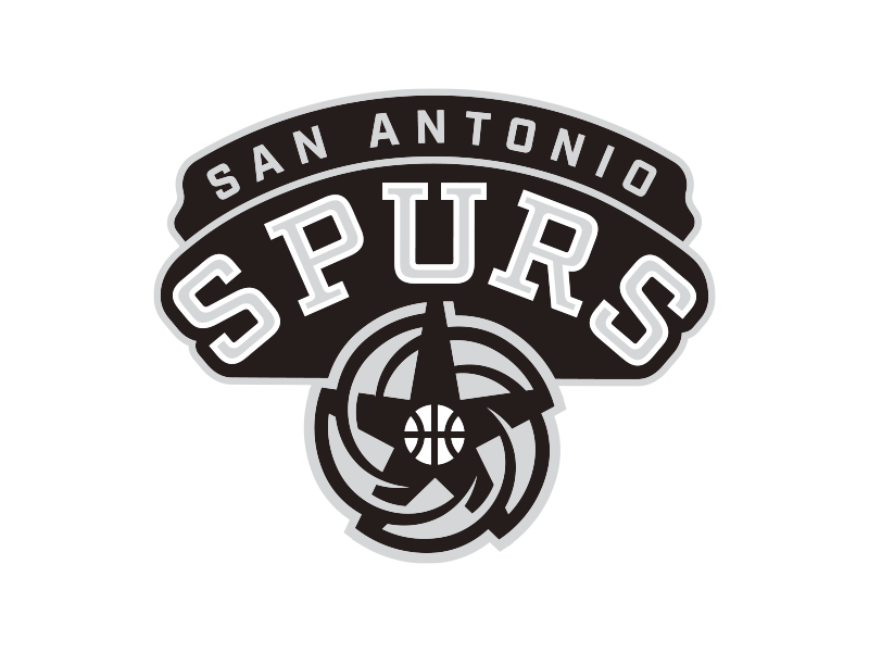 NBA Logo Redesigns San Antonio Spurs By Michael Weinstein