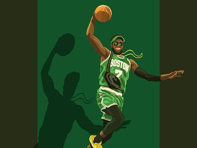 Jaylen dunk visor jaylen celtics boston nba basketball