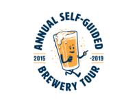 Brewery Tour t-shirt