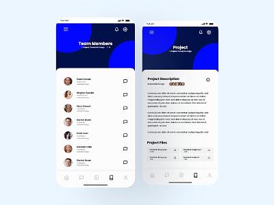 Project Management Design social network dailyui collaboration project management project app design app