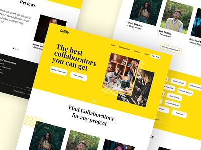 Website Design |  Dribbble explore dailyui ux webdesign ui