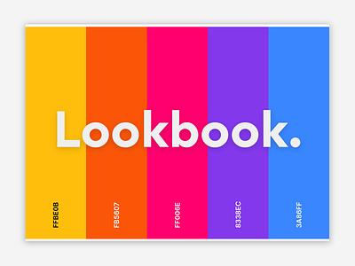 Lookbook feels ui ux ui logo design branding