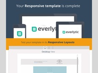 Responsive Layout Test Screen