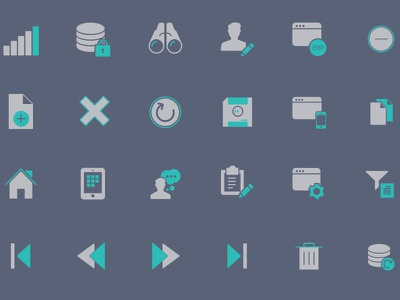 Icons Revised icon tone two