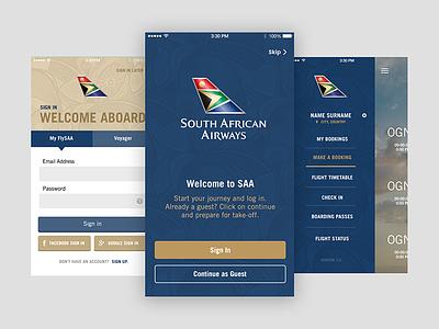 SAA Mobile appdesign mobile