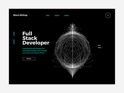 Beornb design developer portfolio