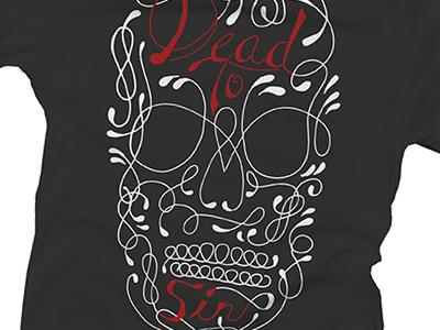 Dead To Sin shirt clothing skull dead sin