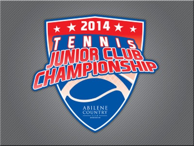 Tennis Jr. Club Champ championship tennis logo sports