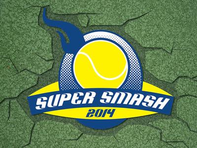 Super Smash tennis tournament smash