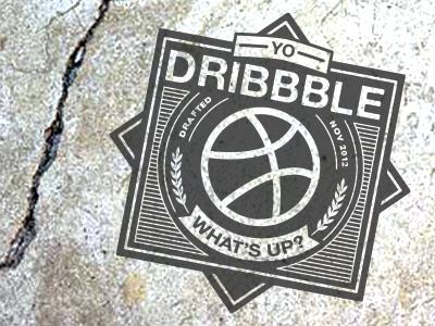 Yo Dribbble, What's Up? debut texas