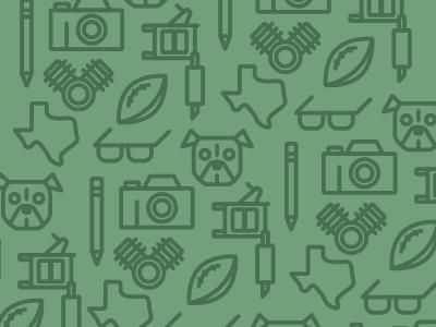 Get To Know Me texas pitbull glasses camera tattoo engine football