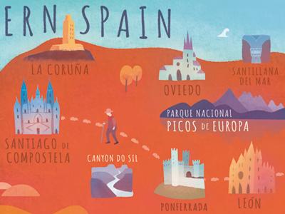 Road trip through Northern Spain