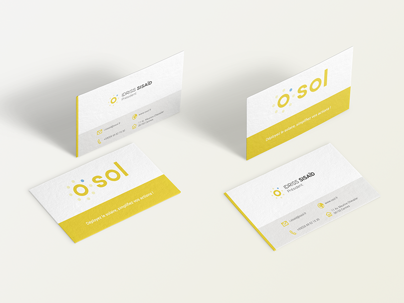 Osol business card