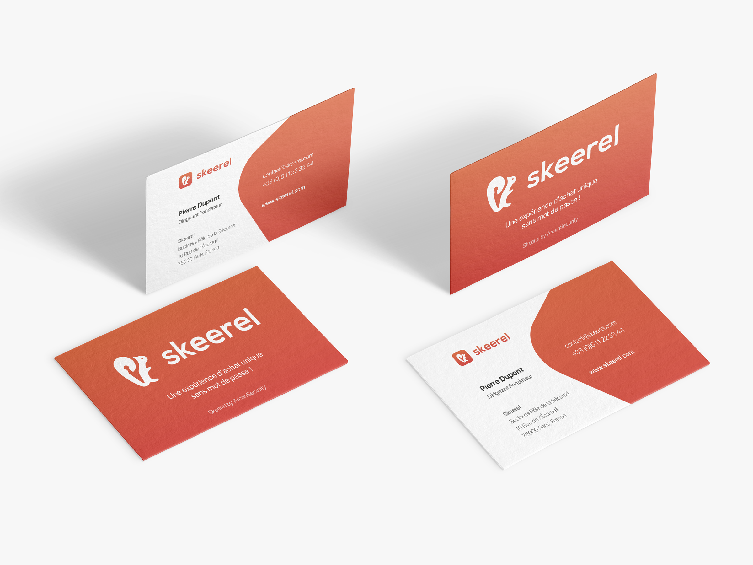 Franois f projects skeerel dribbble skeerel business card 3x reheart Gallery