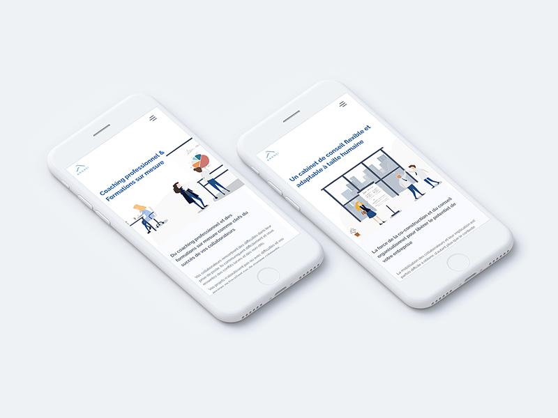 Aransi mobile website