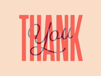 Thank You dribbble thanks followers thankyou typogaphy type graphicdesign creative design