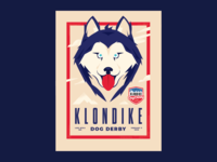 2020 Klondike Dog Derby Poster