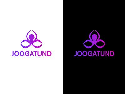 YOGA LOGO yoga institute yoga vector graphic design logo design branding logo illustration icon design