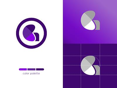 Letter G  and  Round shape gradient logo gradient logo gradient vector graphic design logo design branding logo illustration icon design