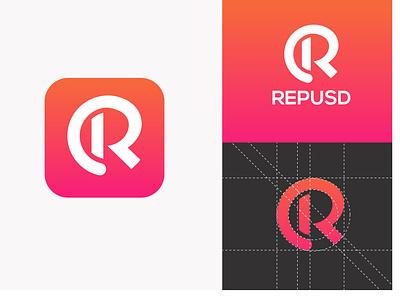 Letter R Logo (App Logo) app icon app logo letter logo vector graphic design logo design branding logo illustration icon design
