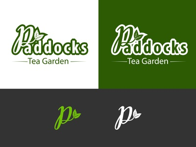 Letter P Logo (tea Garden logo) letter logo p logo vector graphic design logo design branding logo illustration icon design