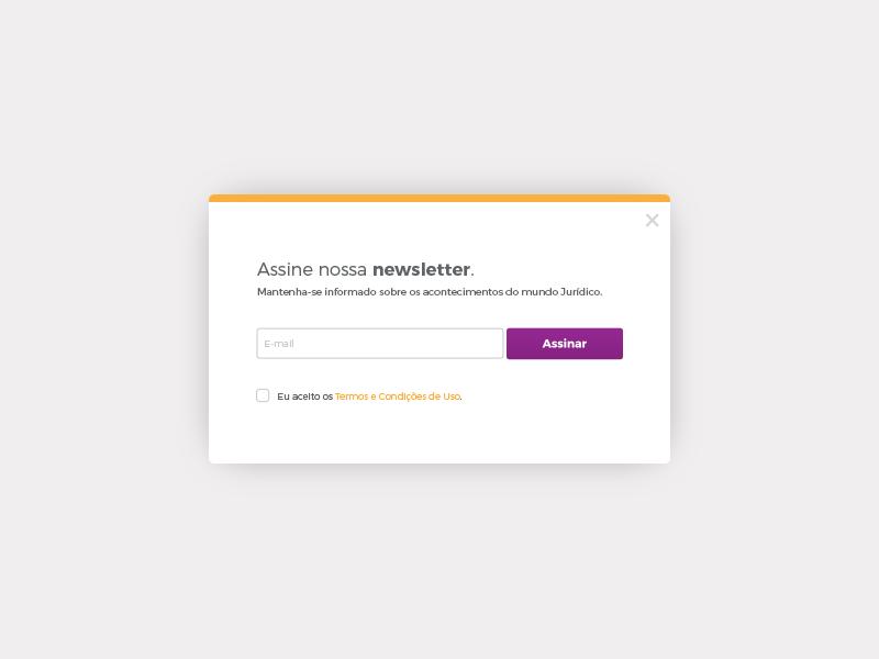 Newsletter form ui newsletter
