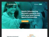 Sports volunteering dribble full