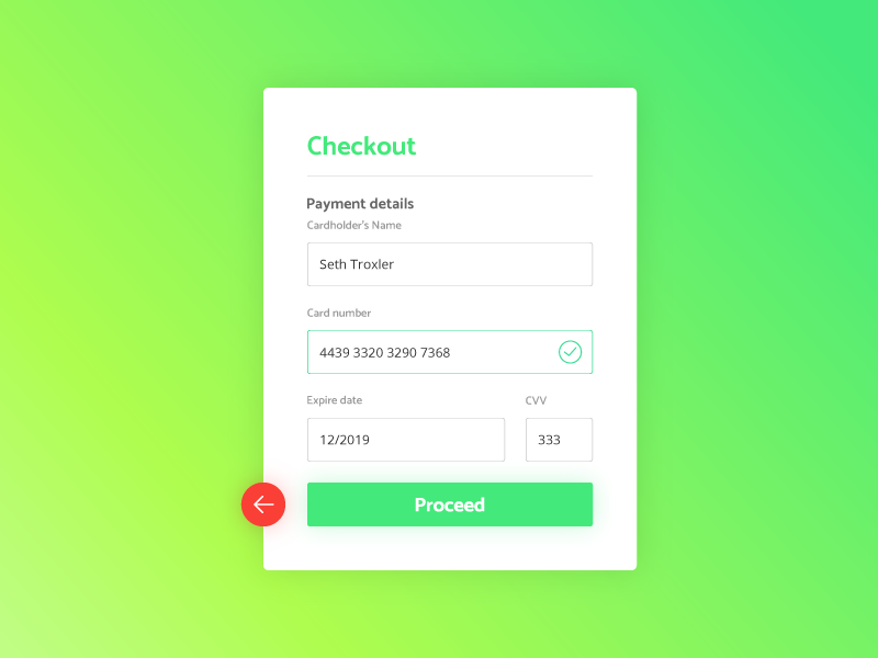 Sign Up form - Daily UI - #002 dailyui checkout ux ui