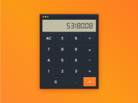 Calculator - Daily UI - #004