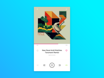 Music Player - Daily UI - #009 player music ux ui daily