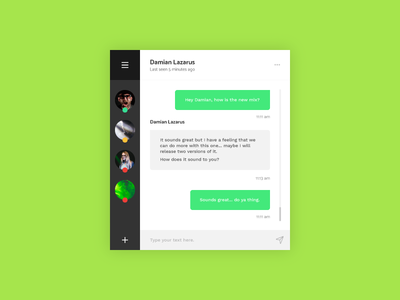 Direct Message - Daily UI - #013 message direct ux ui daily
