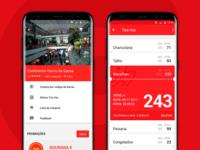 Interface: Continente's profile & cue tickets
