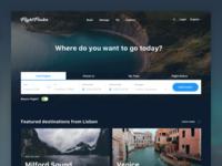 Flight Finder - Website