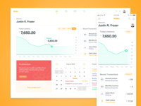 Wallet Banking Dashboard