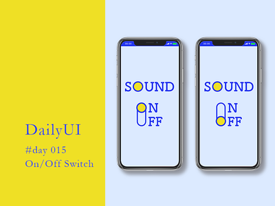 DailyUI #day015 - On/Off Switch 015 day015 app web mobile ux ui design dailyui