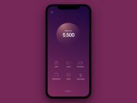 Finance App - Main Screen