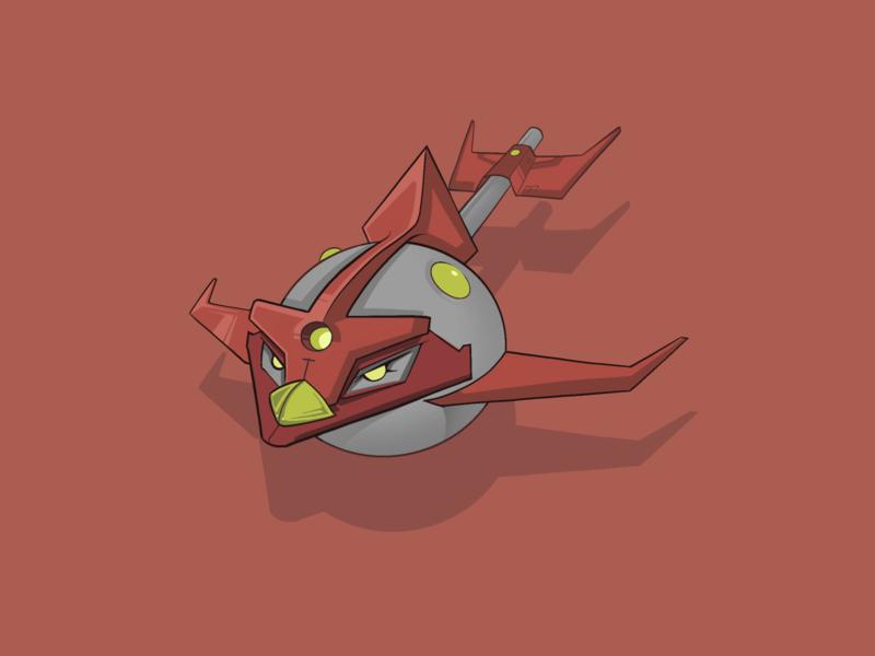 Rocket Bird animation digitalsketch sketch illustration