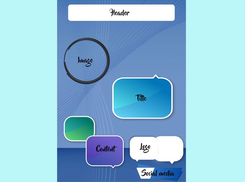 Basic Poster design simple webinar seminar poster design poster postcard basic