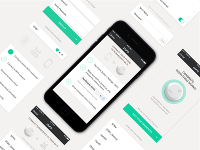 Pura Scents - Onboarding onboarding setup strvcom strv white ui white ios clean ios app clean ios freshener iot internet of things pura scents