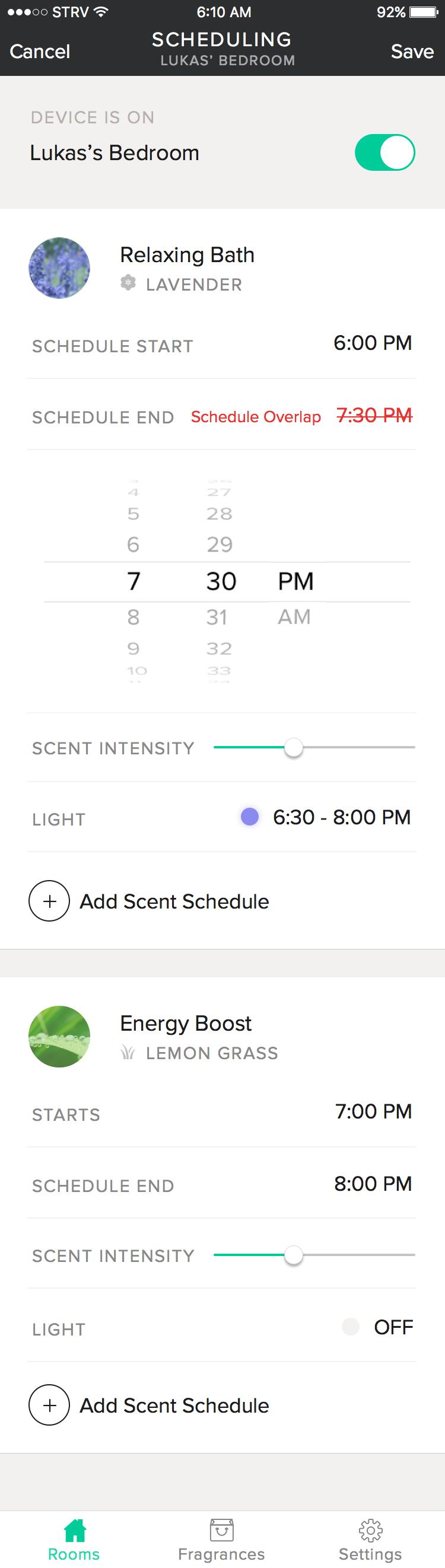 4 schedule overlap