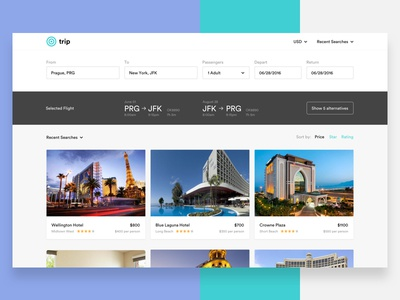 Trip - Browse Hotels