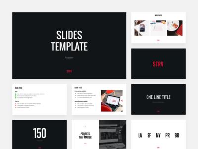 STRV Slides Template pitch slides google presentations presentation presentations google slides slides template slides strvcom strv