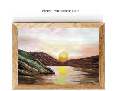 My painting - Water colour on Paper water colour painting