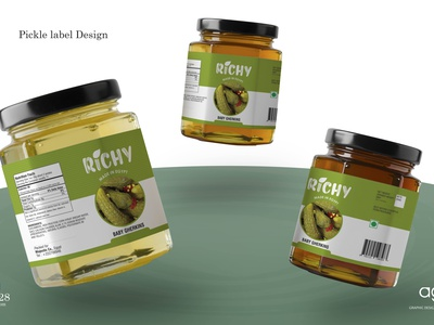 Pickle Label Design pickle label design