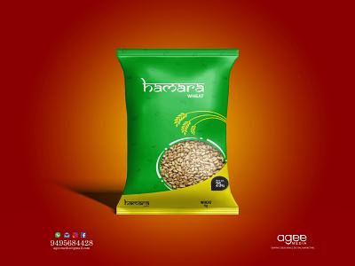 Wheat Bag Design branding package design