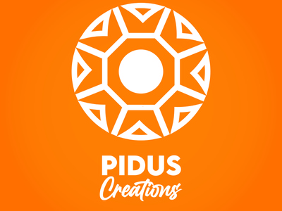 Pidus Creation pidus creation sudip pidus bhusal vector minimal icon design logo design artist logo pidus