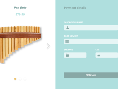 Daily UI #002 flute checkoutpage checkout bank dailyuichallenge daily ui dailyui daily 100 challenge daily