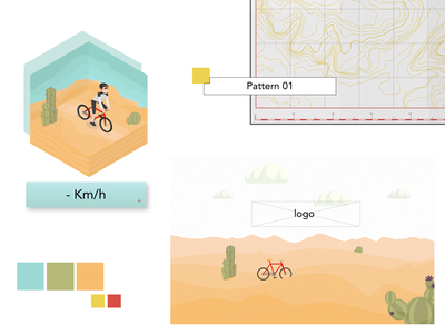 Illustration for app flatdesign ui web design illustration