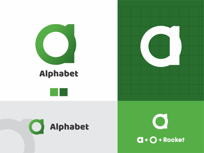 A Monogram Logo monogram branding design minimal web icon logo